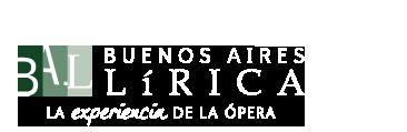 BUENOS AIRES LÍRICA - La Nueva Opera de Buenos Aires