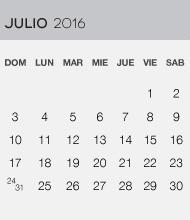 Julio 2016